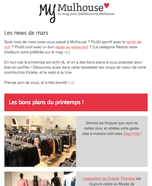 newsletter my mulhouse mars 2016