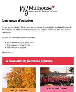 Les news d'octobre 2015