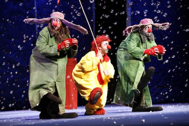 Des clowns loufoques et attendrissants - © A. Lopez