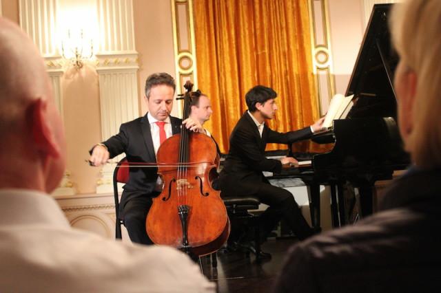 Marc Coppey violoncelle Ismael Margain piano