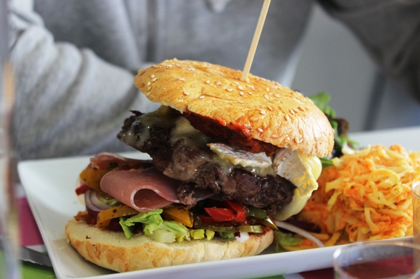 hamburger steak hache