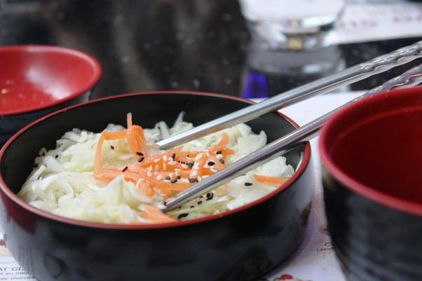 salade crudites resto japonais cernay