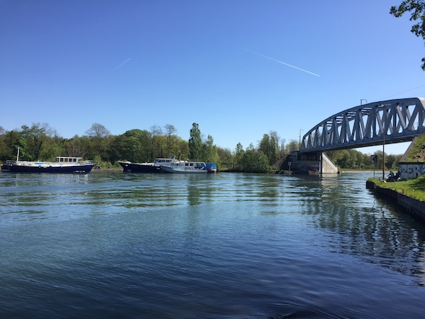 Pont proche de Mulhouse canal rhin