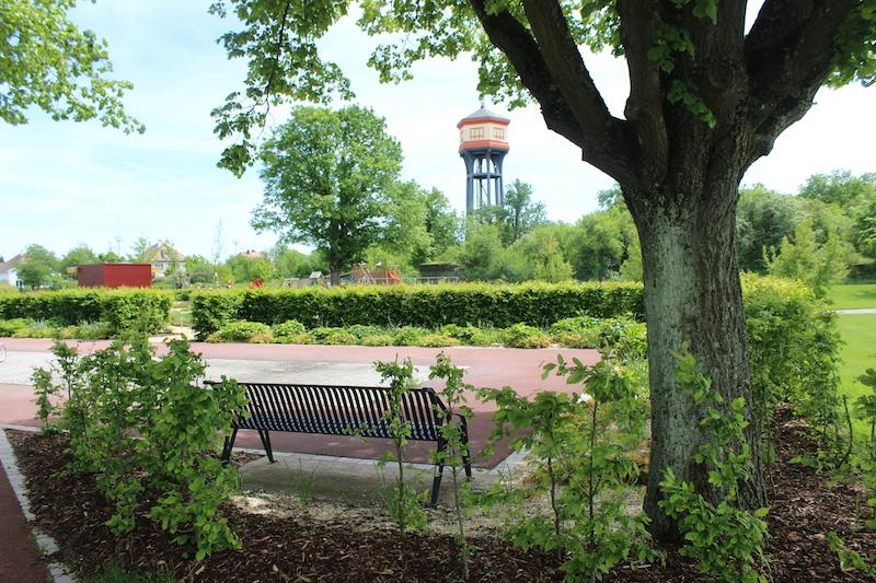 banc ombre chateau eau wittelsheim