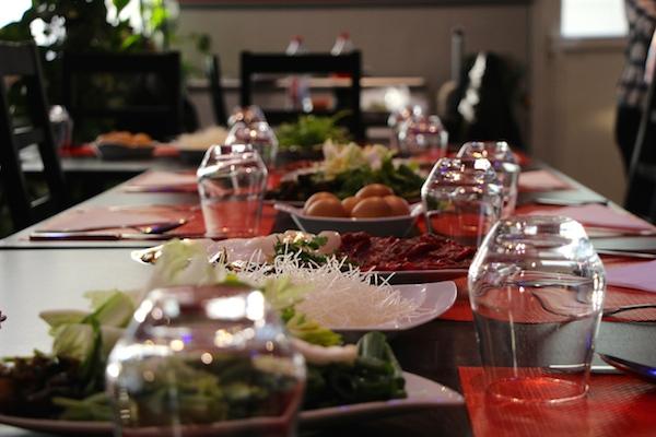 Une belle table avec plein de bonnes choses - © My-Mulhouse.fr