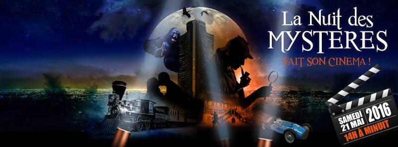 Affiche de la Nuit des Mystères