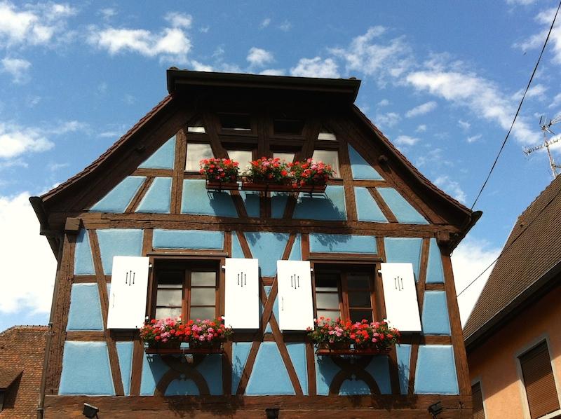 Maison bleu eguisheim challenge vialsace