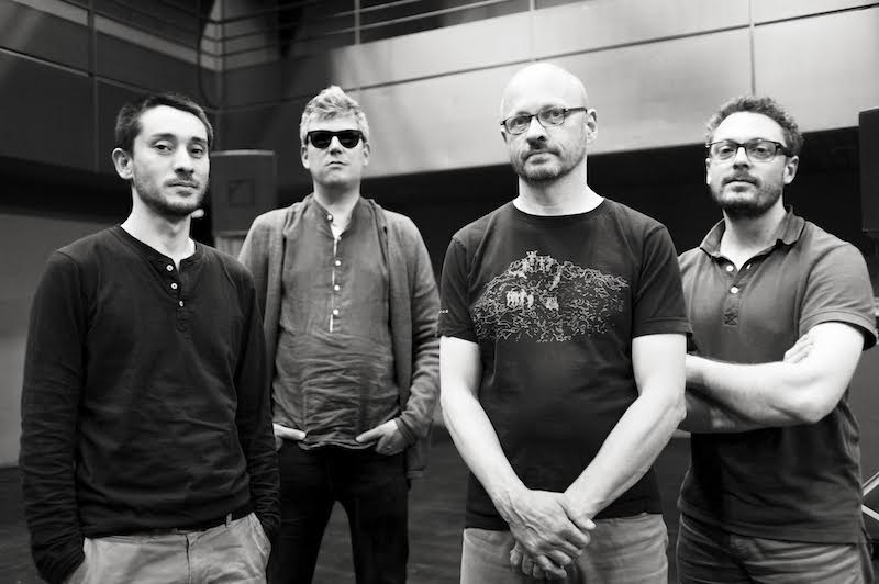 Frantz LORIOT, Cédric PIROMMALI, Antoine CHESSEX et Christian WOLFARTH forment le groupe Der Verboten  © Pierre Chinellato