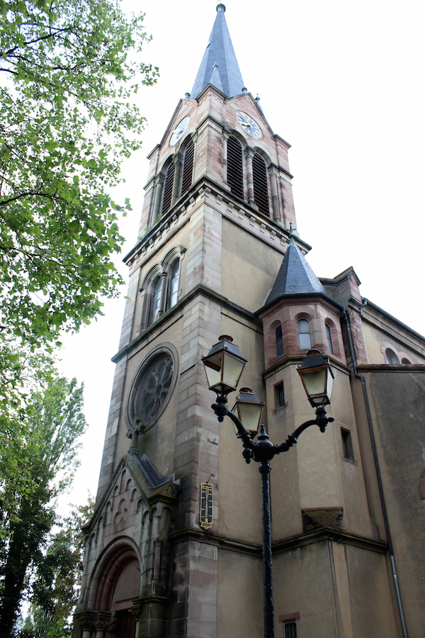clocher eglise st barthelemy mulhouse