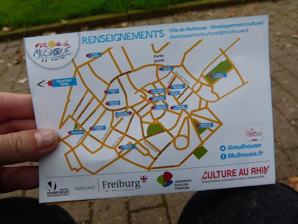 Le plan de toutes les scènes de Mulhouse - © My-Mulhouse.fr