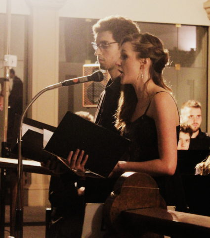 Iannis Taussin et Adeline Debernardi solistes chant