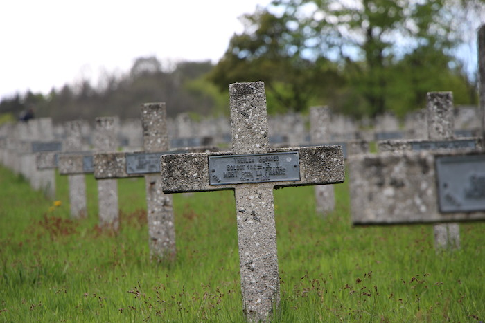 Les croix au Veiil Armand : impressionnant - © My-Mulhouse.fr