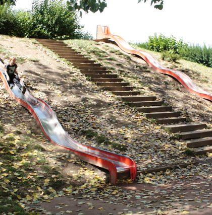 toboggan aire jeux enfants mulhouse