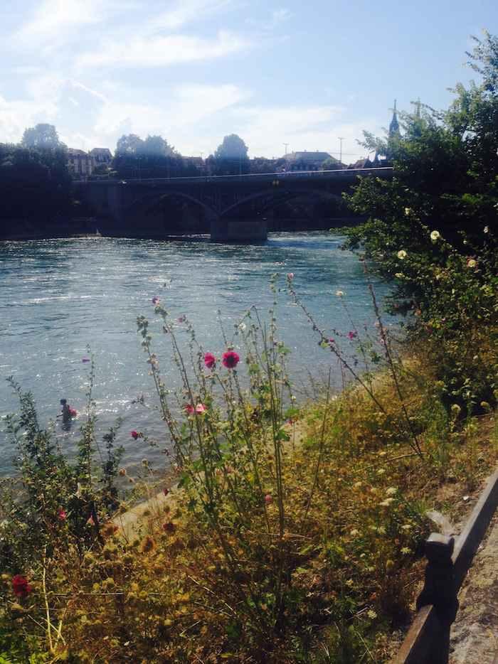 Des airs champêtres pour la baignade - © My-Mulhouse.fr