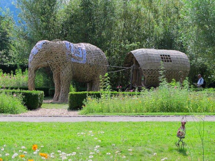 Les éléphants du Parc de Wesserling - ©My-Mulhouse.fr