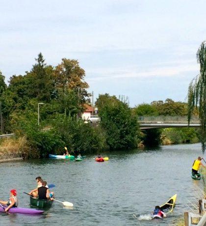 Une initiation au canoe kayak qui a connu un beau succès - © My-Mulhouse.fr