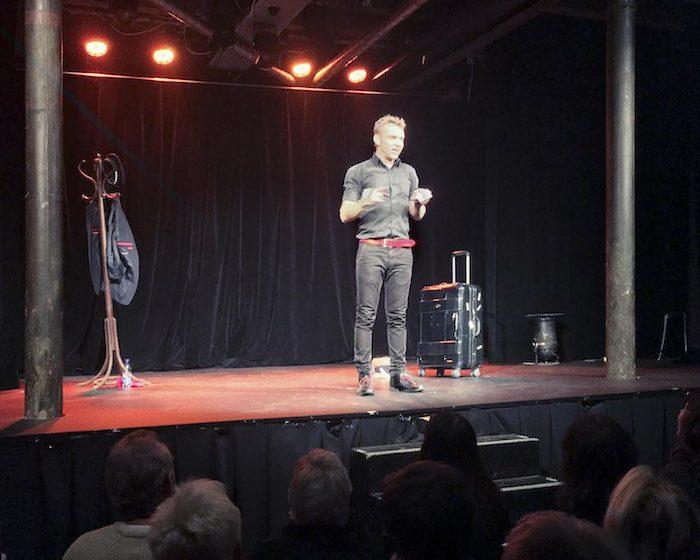 Jeanfi Janssens sur scène © My-Mulhouse.fr