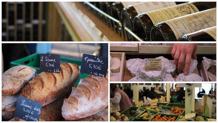 Le marché : une grande et belle variété de produits frais, de vins, d'épicerie... - © My-Mulhouse.fr