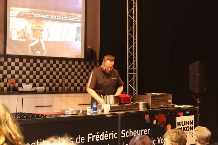 Le Cook Show de Frédéric Scheurer - © My-Mulhouse.fr