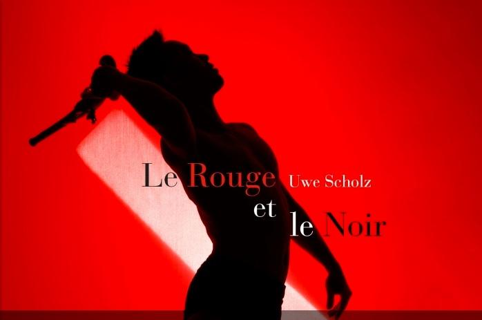 """L'affiche du ballet """"Le Rouge et le Noir"""" - © DR"""