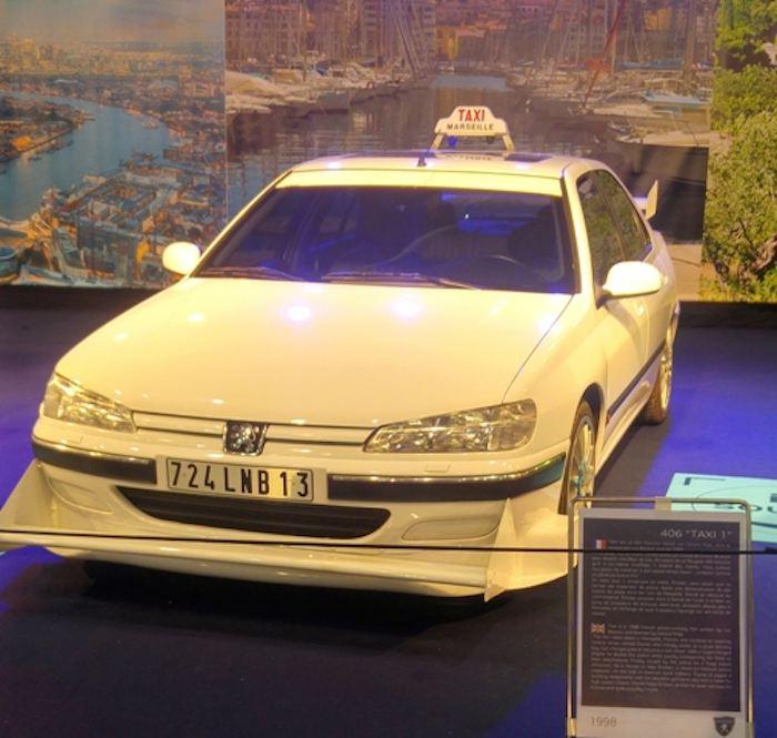 La vraie voiture de Taxi 1, une Peugoet 406 (photo Marie-Eve) :)