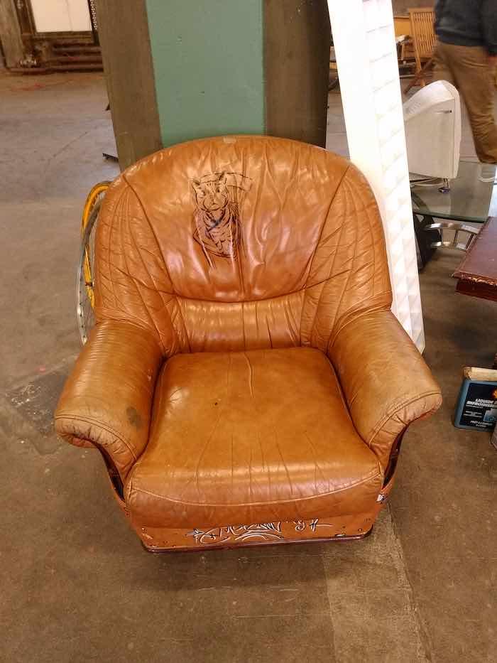 Un chouette fauteuil ! - © My-Mulhouse.fr