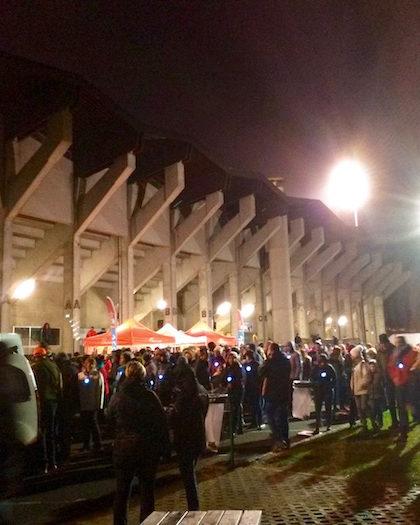 Départ et arrivée au stade de l'Ill ! - © My-Mulhouse.fr