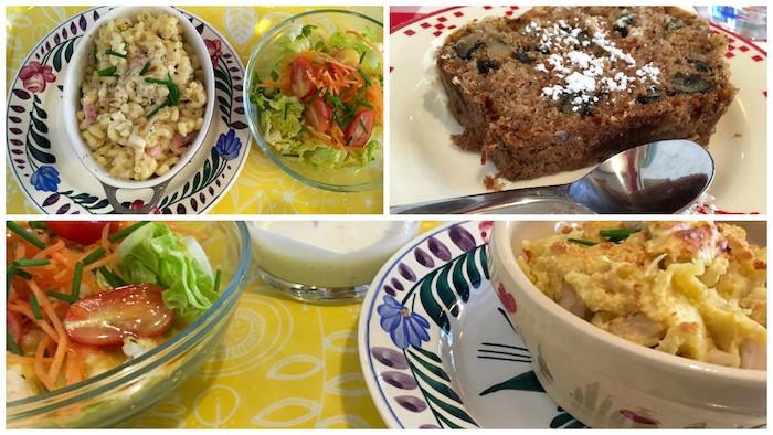 Très bon repas (et le fameux carrot cake !) - © My-Mulhouse.fr