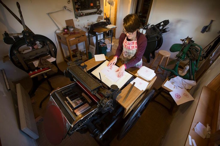 Marion dans son atelier - © My-Mulhouse.fr