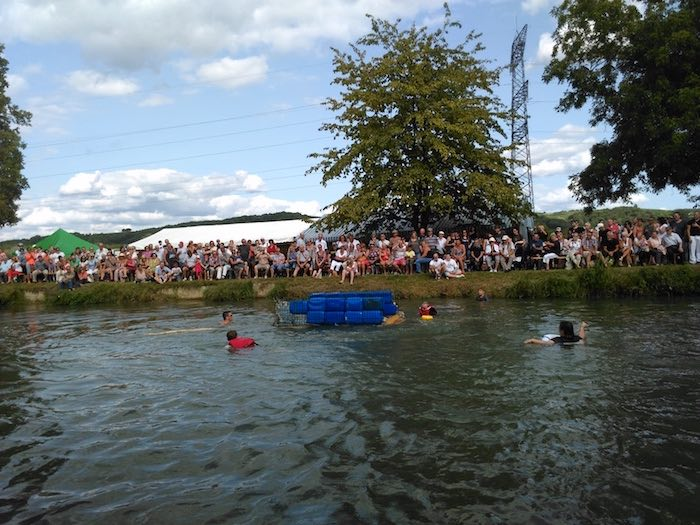Du monde à Kembs pour la course d'OFNIS - © My-Mulhouse.fr