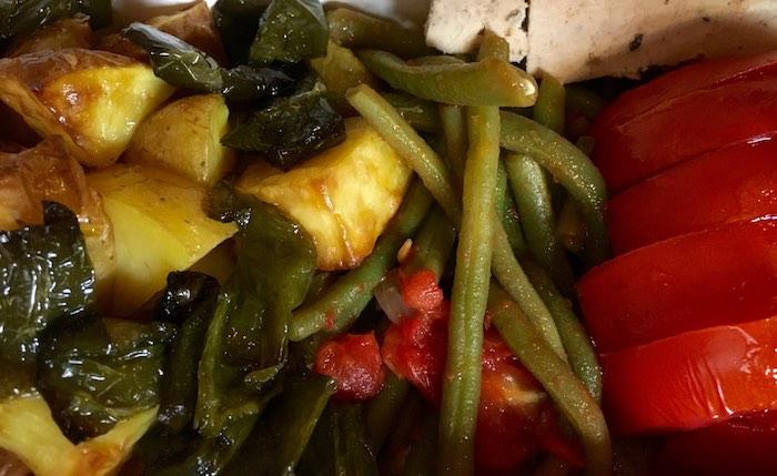 """Des légumes qui ont du goût, cuisinés """"comme à la maison"""" - © My-Mulhouse.fr"""