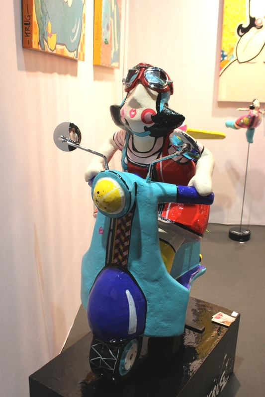 sculpture scooter