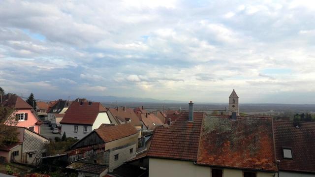 vue panoramique alsace