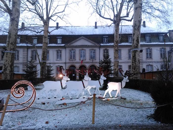 Un cadre enchanteur pour ce marché de Noël ! - ©My-Mulhouse.fr