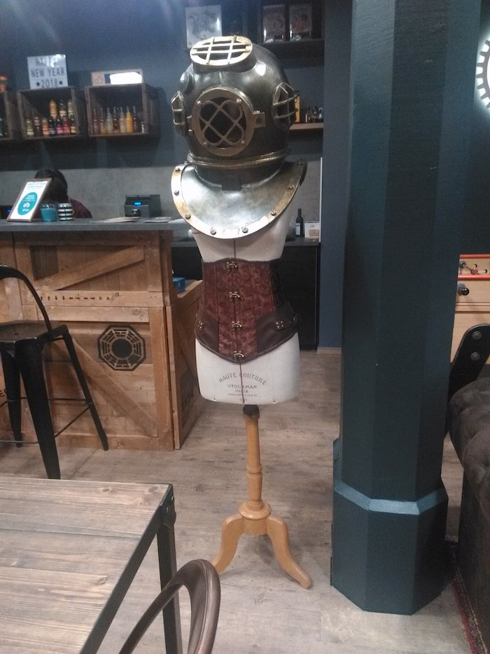 Ambiance steampunk dans l'escape game - © My-Mulhouse.fr
