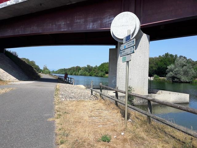 piste cyclable mulhouse pont du bouc