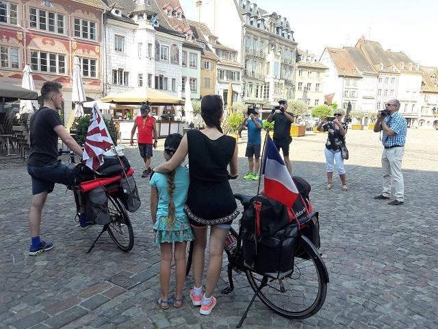 laurine et adrien cyclotouristes mulhouse