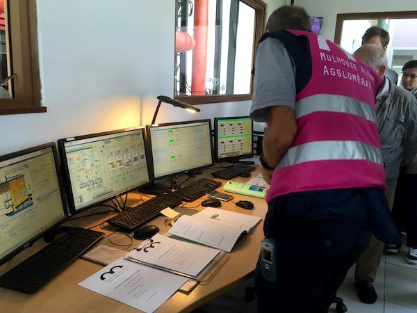 La centrale thermique est monitorée en permanence -© My-Mulhouse.fr