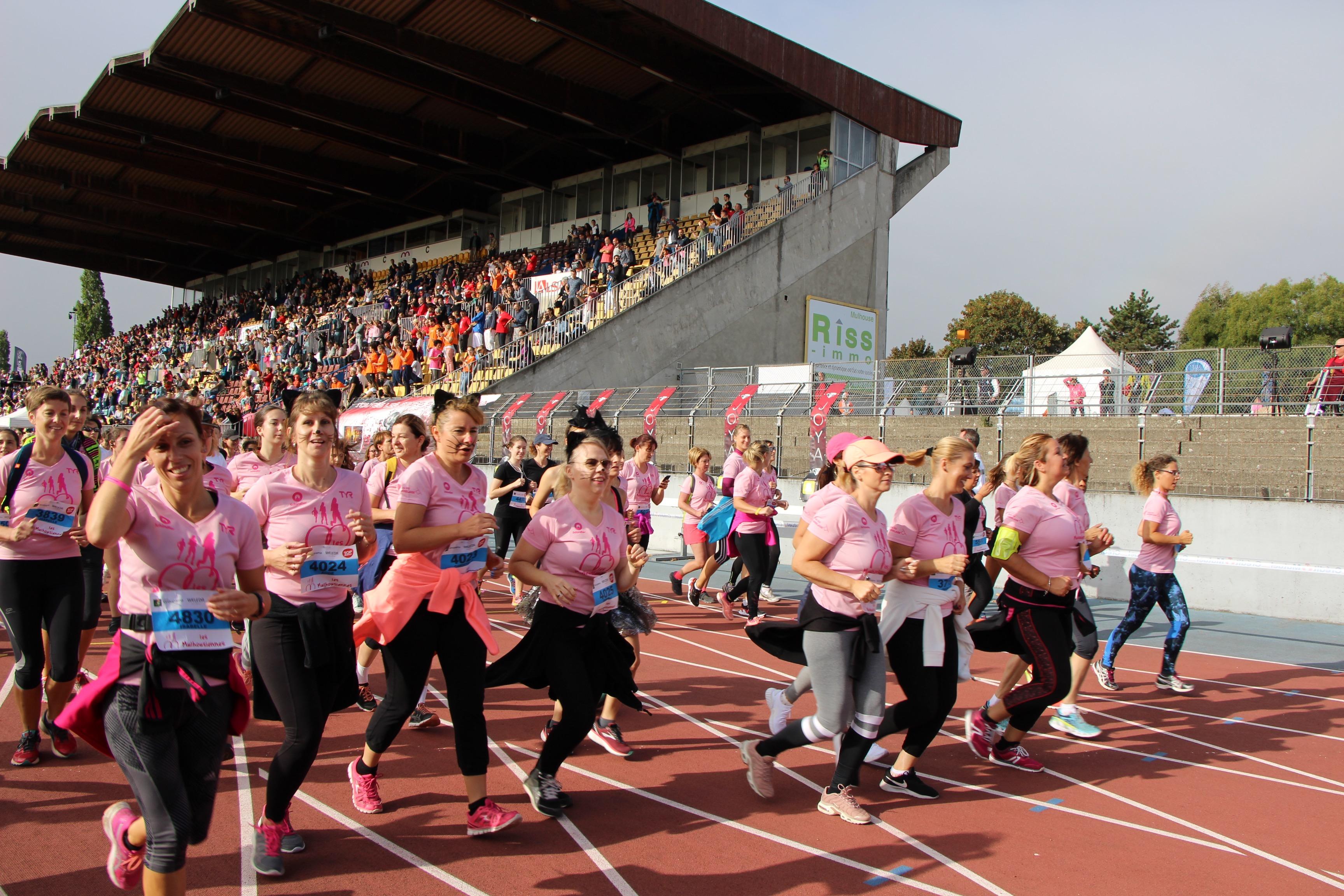 C'est parti pour les coureuses ! -© My-Mulhouse.fr
