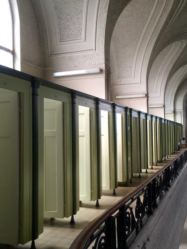 Alignement de cabines -© My-Mulhouse.fr
