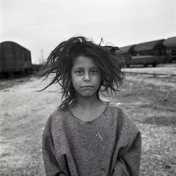 Priscilia, un des portraits saississants de l'expo de Matieu Pernot © Mathieu Pernot
