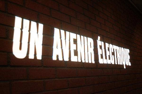 Nouvel espace permanent du musée consacré au futur de l'électricité