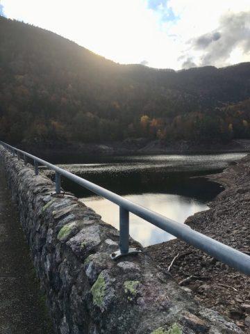 Le barrage et le lac d'Alfeld - © My-Mulhouse.fr