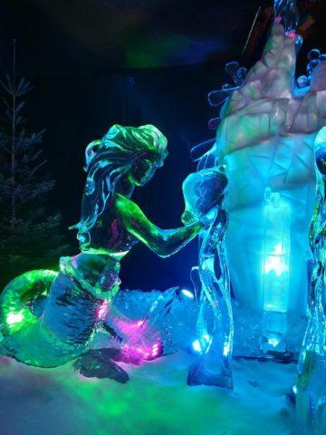 Sculpture sur glace, juste féérique - © My-Mulhouse.fr