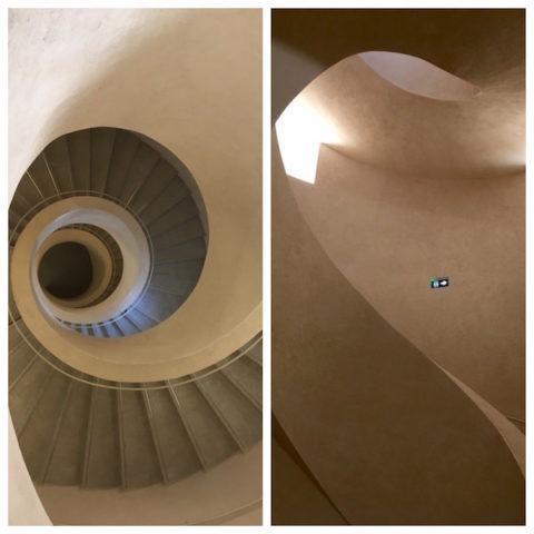 A l'intérieur, des courbes et des escaliers très modernes - © My-Mulhouse.fr