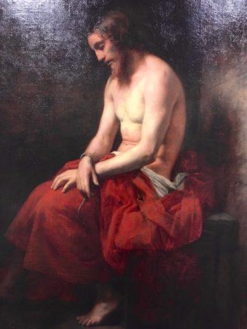 Un Christ particulièrement troublant par Jean-Jacques Henner - © My-Mulhouse.fr